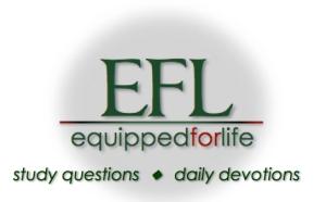EFL devo study logo