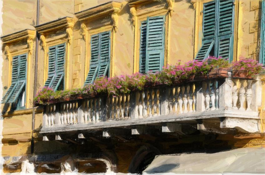 Levanto Balcony