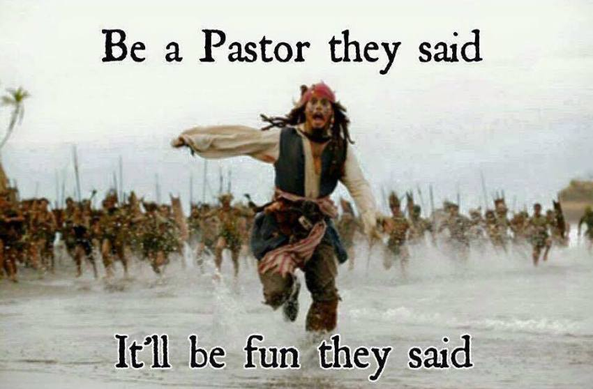 be a pastor they said