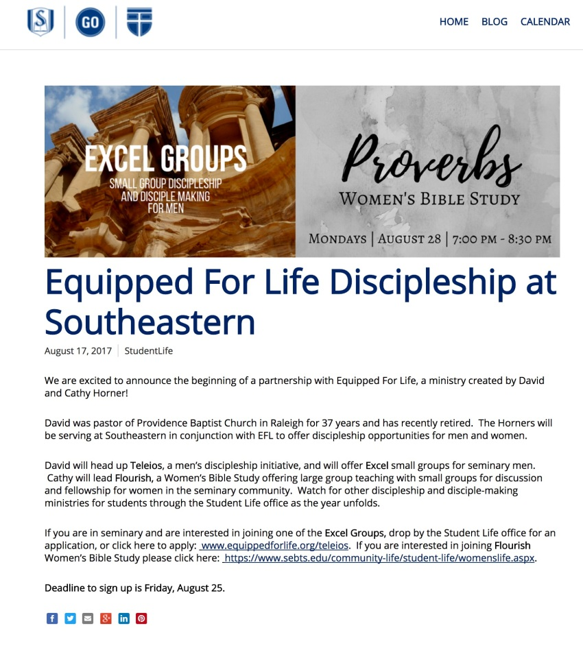 SEBTS ad for EFL